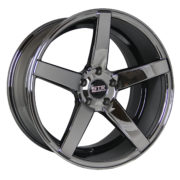 STR 607 Black Chrome Wheels