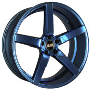 STR 607 Blue Chrome Wheels