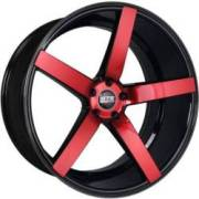 STR 607 Magic Red Wheels