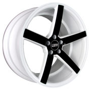 STR 607 Black and White Wheels