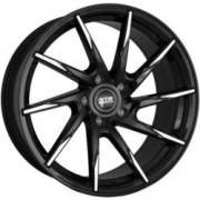 STR 621 Black Machined Wheels