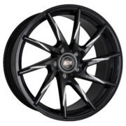 STR 621 Black Milled Wheels