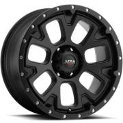 Ultra 109 Xtreme Satin Black Satin Clear