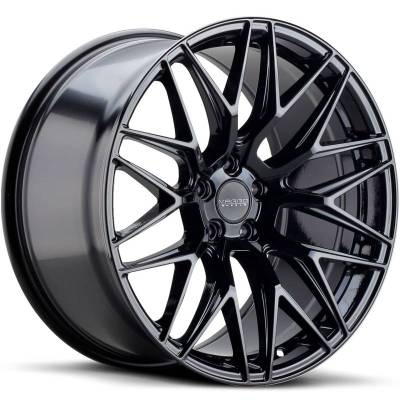 Varro VD06X Spin Forged Gloss Black Wheels