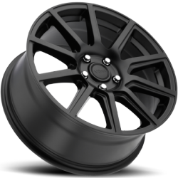 Voxx Mille Matte Black Wheels