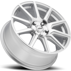 Voxx Mille Silver Machined Wheels