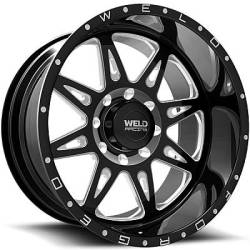 Weld Racing XT Cheyenne Black Milled Wheels