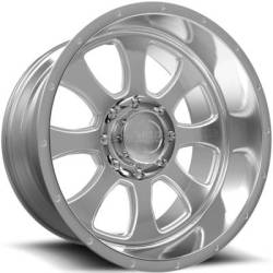 Weld Racing XT Renegade 8 Brushed Wheels