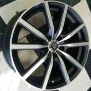 White Diamond W5363 Matte Machine Black Wheels