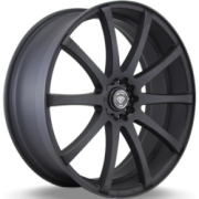 White Diamond Wheels 3196 Matte Black