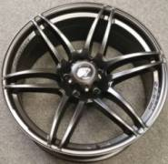 White Diamond 6007 Matte Black Truck Wheels