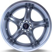 White Diamond W511 Gnumetal Machined Wheels
