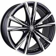 White Diamond 2750 Black MachinedWheels