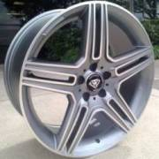 White Diamond 5097 Machined Grey Wheels