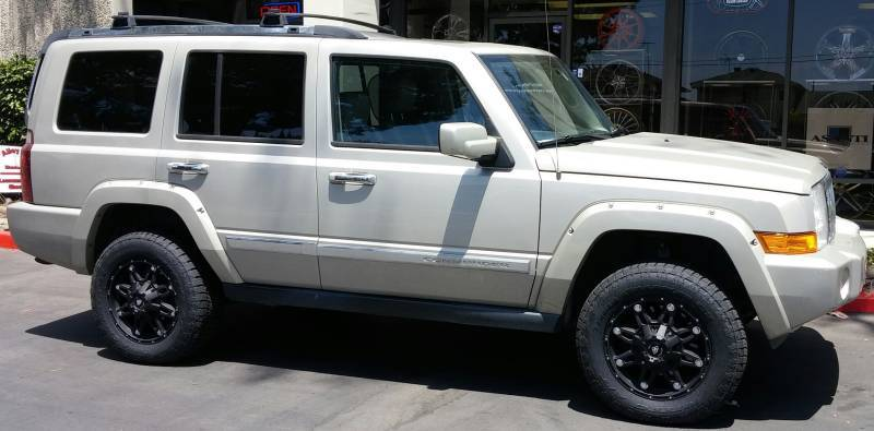White Diamond WD-5610 on 2008 Jeep Commander