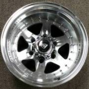 White Diamond 3910 Machined Gunmetal Wheels