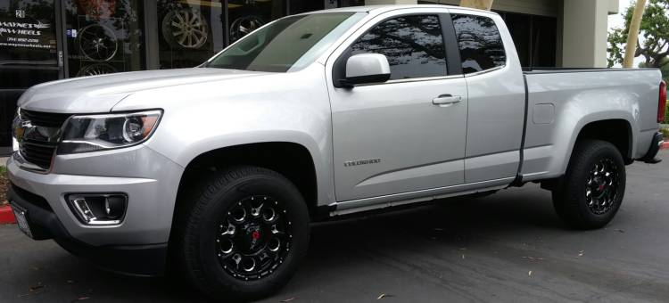 Worx 809 Rebel Wheels on 2016 Chevrolet Colorado