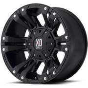 XD Series XD822 Monster II Satin Black with Accent