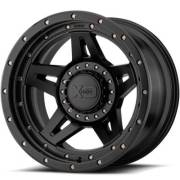 XD138 Brute Satin Black Wheels
