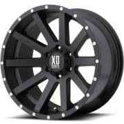 XD818 Heist Satin Black Wheels