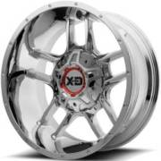XD Series Wheels XD839 Clamp Chrome Wheels
