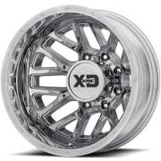 XD843 Renegade Chrome Rear Dually Wheels